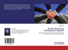 Quality Assurance Techniques in OpenUP的封面