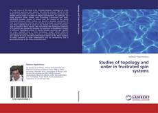 Bookcover of Studies of topology and order in frustrated spin systems
