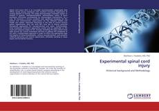 Bookcover of Experimental spinal cord injury