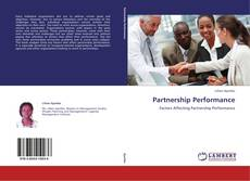 Bookcover of Partnership Performance