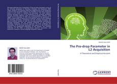 Bookcover of The Pro-drop Parameter in L2 Acquisition