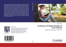 Capa do livro de A History of Wege People of East Shewa