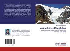 Bookcover of Snowmelt Runoff Modelling