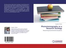 Copertina di Phenomenography as a Research Strategy