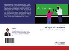 The Right to Education kitap kapağı