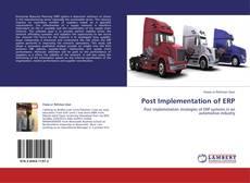 Couverture de Post Implementation of ERP