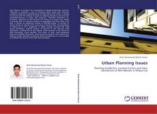 URBAN PLANNING ISSUES kitap kapağı