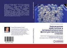 Copertina di Зарождение кристаллов в литиевосиликатных фоточувствительных стеклах