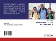 Buchcover von Этнонациональная толерантность