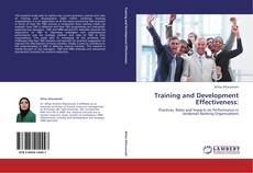 Bookcover of Training and Development Effectiveness: