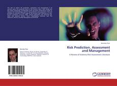 Copertina di Risk Prediction, Assessment and Management