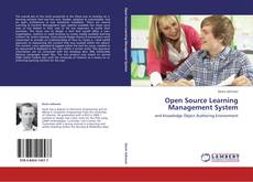 Bookcover of Open Source Learning Management System