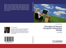 Bookcover of Principles of Human Computer Interaction Design