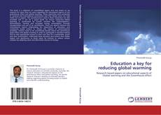 Bookcover of Education a key for reducing global warming