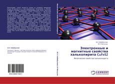 Bookcover of Электронные и магнитные свойства халькопирита CuFeS2