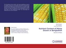 Bookcover of Nutrient Content of Maize Grown in Bangladesh