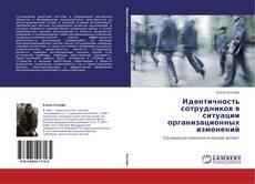 Идентичность сотрудников в ситуации организационных изменений kitap kapağı