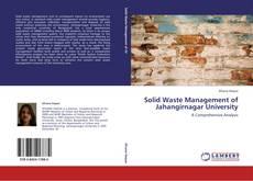 Bookcover of Solid Waste Management of Jahangirnagar University