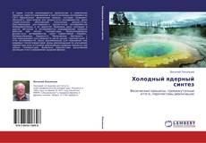 Холодный ядерный синтез kitap kapağı