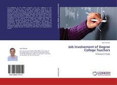 Bookcover of Job Involvement of Degree College Teachers
