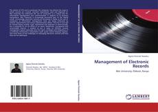 Обложка Management of Electronic Records
