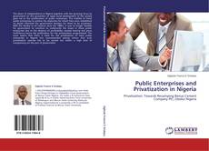 Bookcover of Public Enterprises and Privatization in Nigeria