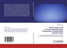 Portada del libro de Anti-tumor and Immunomodulatory Properties of Adsorbed Ascites Fluid