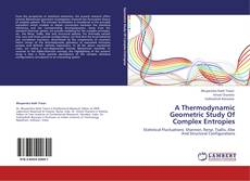Bookcover of A Thermodynamic Geometric Study Of Complex Entropies
