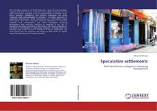 Bookcover of Speculative settlements