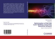 Portada del libro de Optimization of Nd:YAG Laser  Welding using Grey Relational Analysis