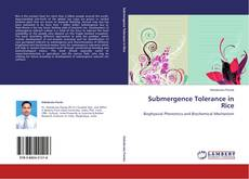 Bookcover of Submergence Tolerance in Rice