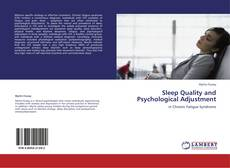 Bookcover of Sleep Quality and Psychological Adjustment