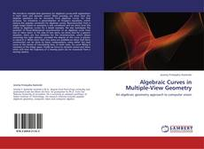 Capa do livro de Algebraic Curves in Multiple-View Geometry