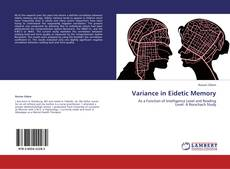 Bookcover of Variance in Eidetic Memory