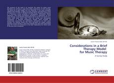 Buchcover von Considerations in a Brief Therapy Model for Music Therapy