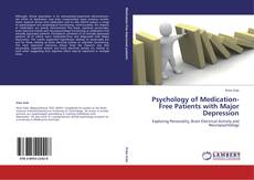 Copertina di Psychology of Medication-Free Patients with Major Depression