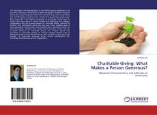 Portada del libro de Charitable Giving: What Makes a Person Generous?