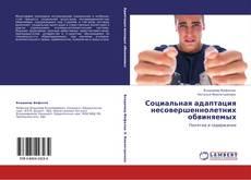 Bookcover of Социальная адаптация несовершеннолетних обвиняемых