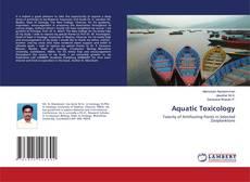 Bookcover of Aquatic Toxicology