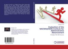 Buchcover von Evaluation of the NACWAA/HERS Institute for Administrative Advancement