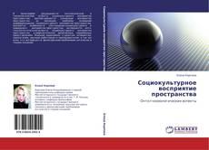 Bookcover of Социокультурное восприятие пространства