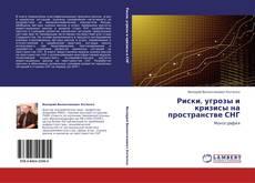 Buchcover von Риски, угрозы и кризисы на пространстве СНГ