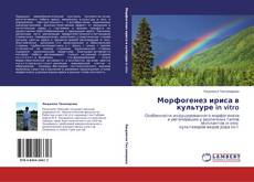 Portada del libro de Морфогенез ириса в культуре in vitro