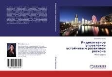 Capa do livro de Индикативное управление устойчивым развитием региона