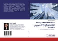 Обложка Совершенствование стратегического управления развитием города