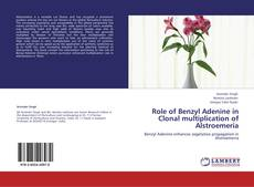 Bookcover of Role of Benzyl Adenine in Clonal multiplication of Alstroemeria