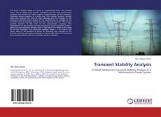 Bookcover of Transient Stability Analysis