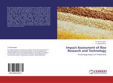 Portada del libro de Impact Assessment of Rice Research and Technology