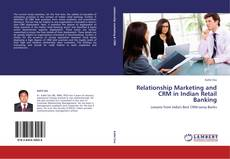 Capa do livro de Relationship Marketing and CRM in Indian Retail Banking