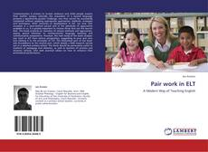 Bookcover of Pair work in ELT